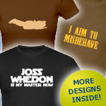 Joss Whedon, TV, Movie & Sci-Fi Tshirts