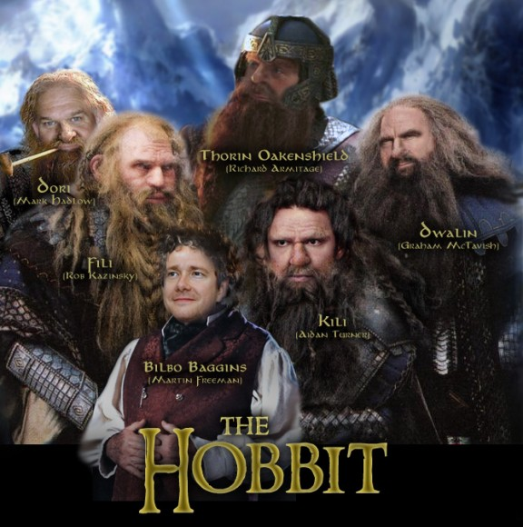 Cast of The Hobbit (so far)
