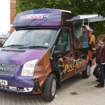 Sky Movies Summer Ice Cream Van Tour in London
