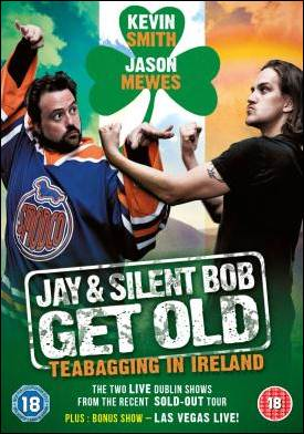 Jay & Silent Bob Get Old : Teabagging In Ireland DVD Review
