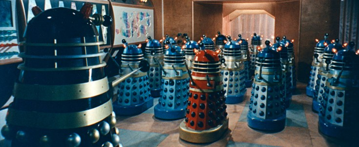 DR WHO & THE DALEKS & DALEKS' INVASION EARTH 2150 A.D. REVIEW