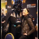 Kate Kelton with Darth Vader